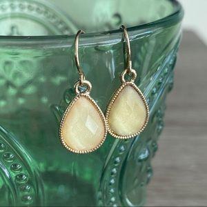 Jewelry - Faceted mini drop earrings